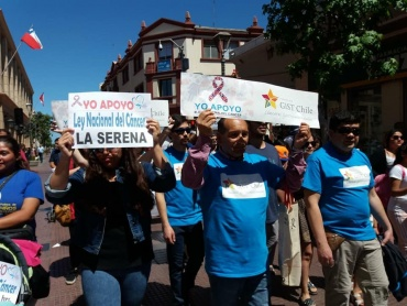 Fundación GIST Chile participa en LA SERENA: Marcha familiar apoyando la Ley Nacional del Cáncer