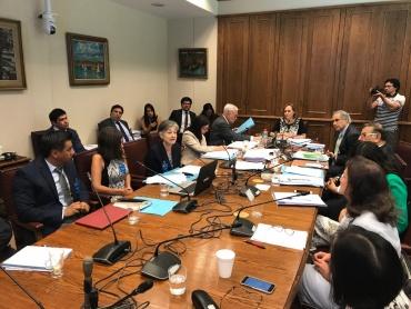 Congreso en Valparaíso junto a la Comisión de Salud del Senado