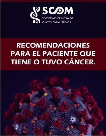 Recomendaciones para paciente que tiene o tuvo cáncer de SCOM