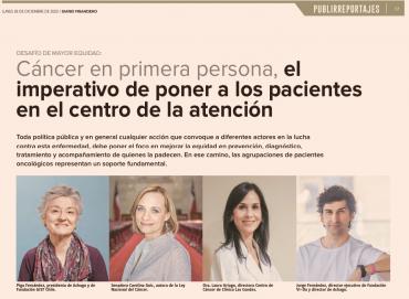 Cáncer en primera persona, el imperativo de poner a los pacientes en el centro de la atención