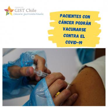 Pacientes con cáncer podrán vacunarse contra el COVID-19 en próxima etapa de vacunación